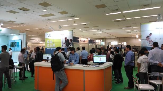 Connect2014 5 MundoGEO#Connect 2014 tem início com sucesso de público