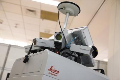 Connect2014 Feira laser MundoGEO#Connect 2014 reúne mais de 4,5 mil pesquisadores, usuários e empresários