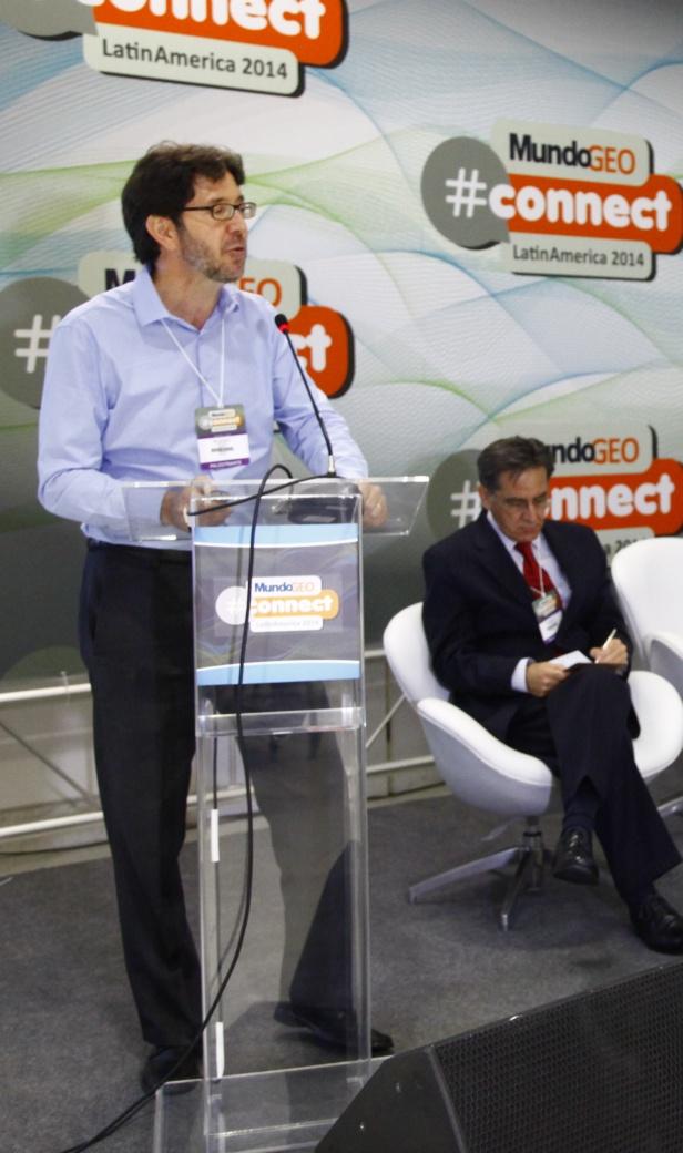 Connect2014 SeminarioGestores 2 MundoGEO#Connect 2014 reúne mais de 4,5 mil pesquisadores, usuários e empresários