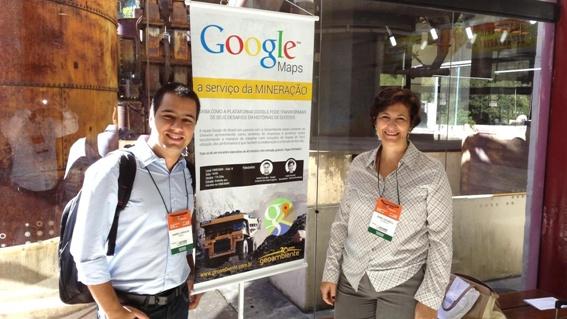 Google Maps para Mineração é destaque no evento SimexMin 2014