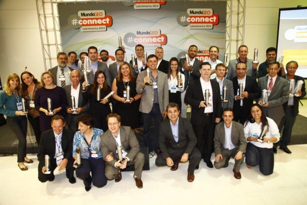 Premio 6 MundoGEO#Connect 2014 reúne mais de 4,5 mil pesquisadores, usuários e empresários