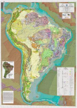 mapa tectonico america do sul Brasil y Argentina terminan el Mapa tectónico de América del Sur