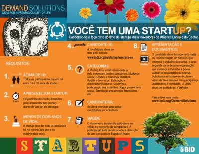 BID11 El BID busca las 15 startups más creativas de América Latina