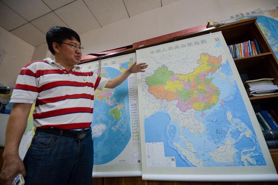 """China """"estica"""" mapa nacional para defender reivindicações marítimas"""