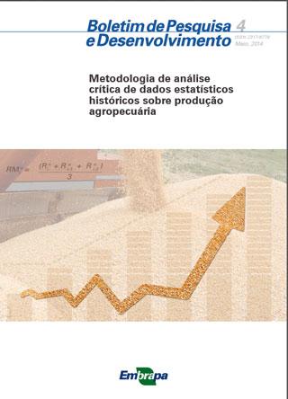 Embrapa lança publicação sobre qualidade de dados agropecuários