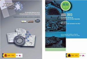 INDEE13 Disponibles los artículos de las Jornadas Ibéricas de las IDE