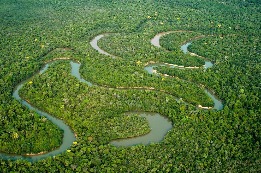 Mais de 9 mil km² de rios na Amazônia serão mapeados