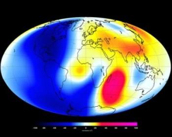swarm 1 Los nuevos satélites europeos revelaron cambios en el campo magnético de la Tierra