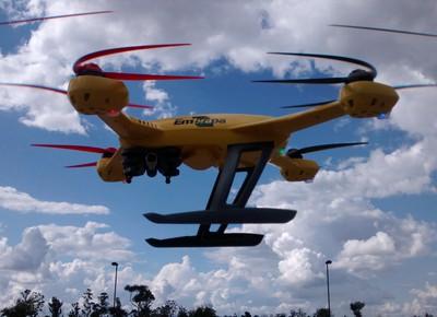 Embrapa Instrumentação apresenta drone para agricultura