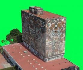 Un VANT fue utilizado en el levantamiento del patrimonio mundial de Unesco