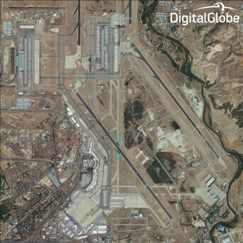 1 13 Primeiras imagens coletadas pelo novo satélite WorldView são divulgadas