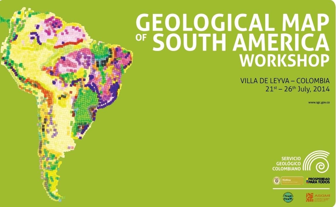 Reunião trata do desenvolvimento do Mapa Geológico da América do Sul