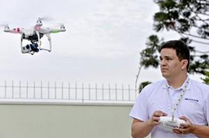 Utilização de Drones na agricultura vem ganhando espaço no estado do Paraná 300x199 Utilização de Drones na agricultura vem ganhando espaço no Paraná