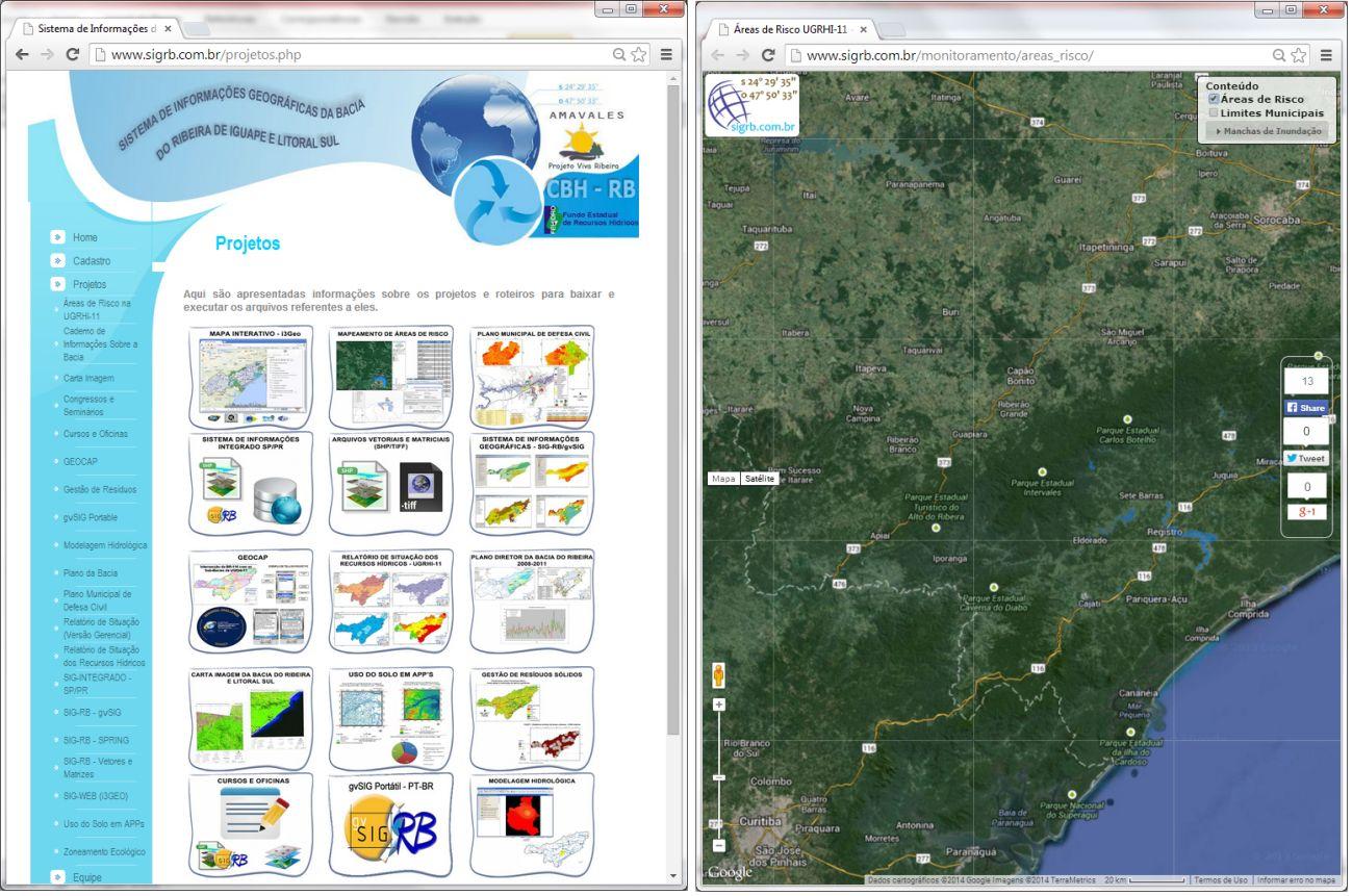 Vale do Ribeira tem monitoramento constante de possíveis desastres naturais Vale do Ribeira tem monitoramento constante de possíveis desastres naturais