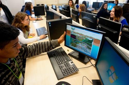 image Jogo virtual ensina crianças a gerenciar bacia hidrográfica do Paraná