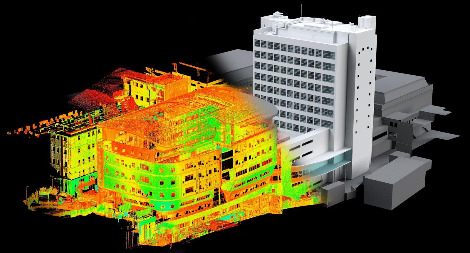 Сфера применения лазерного сканирования