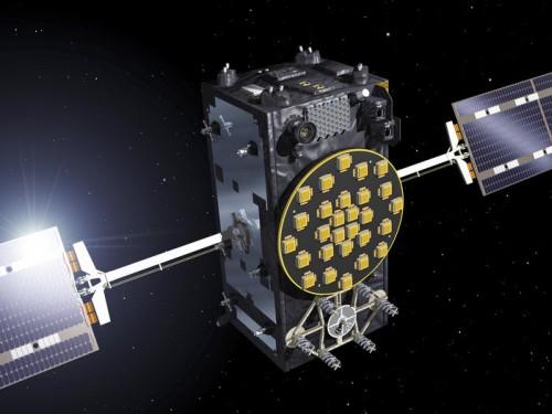 Artist s view of one of the first two FOC satellites node full image 21 Conclusões sobre a falha com os dois satélites Galileo são precipitadas