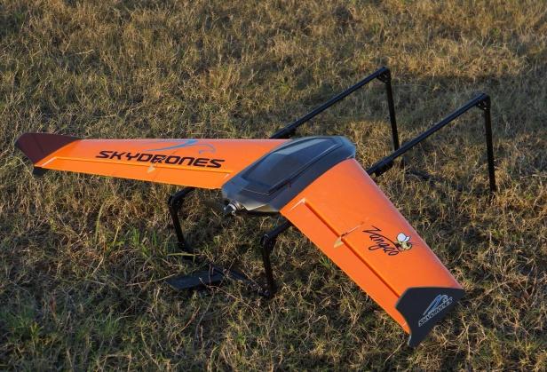 SkyDrones anuncia novo VANT Zangão ao mercado brasileiro
