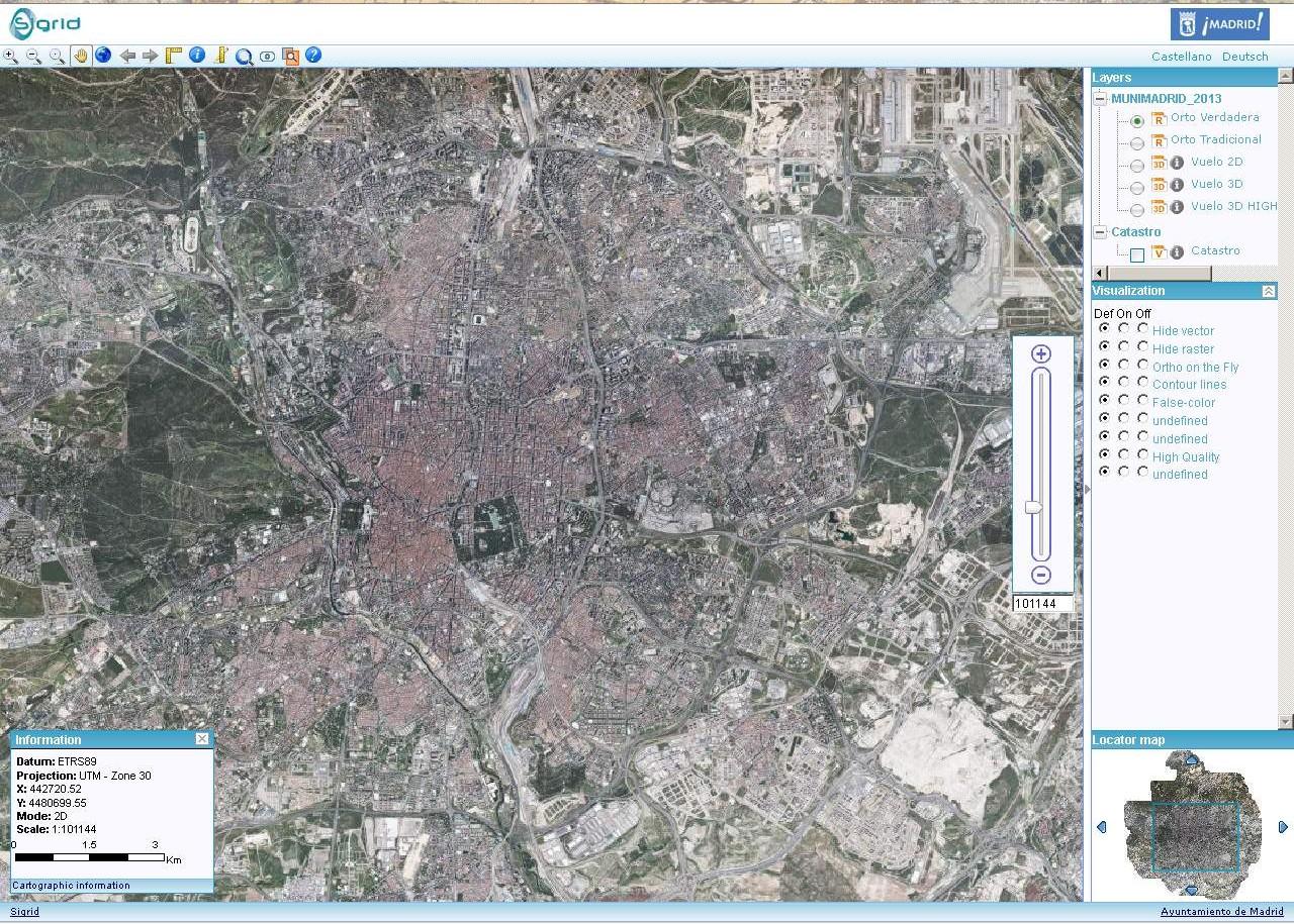 Tecnología de última generación para ver la ciudad al detalle y en 3D