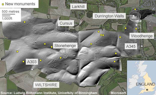 Stonehenge secrets revealed by underground map | MundoGEO