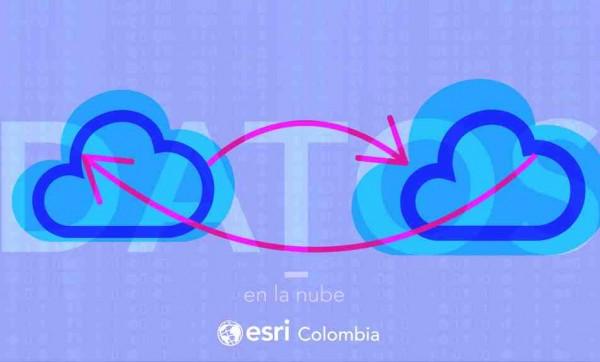 sig en la nube esri colombia arcigs online 600x362 Datos en la nube: información geográfica al alcance de todos