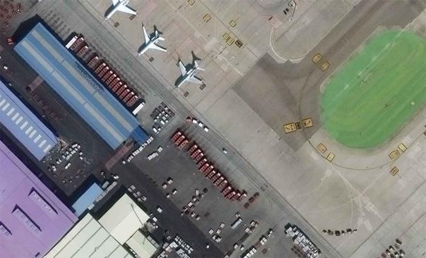 Imagens de 30 cm do novo satélite WorldView