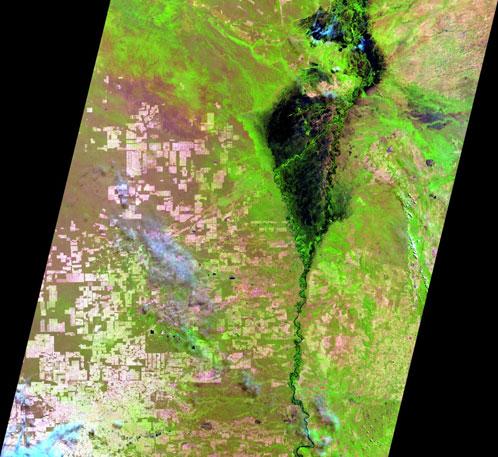 Corumba MS Inpe fornece imagens de satélite indiano