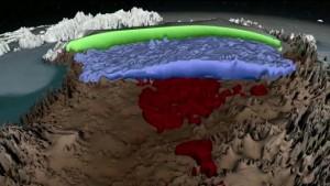 NASA Groelandia1 300x169 Fue elaborado el primer mapa de las capas de hielo de Groenlandia