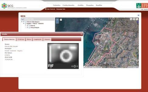 Visualizador Geral do Setor Janela de Dados Geotecnologias livres no setor público