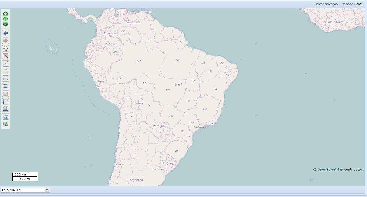 Visualizador INDE2 Ministério do Planejamento abre licitação para contratação de empresa de consultoria