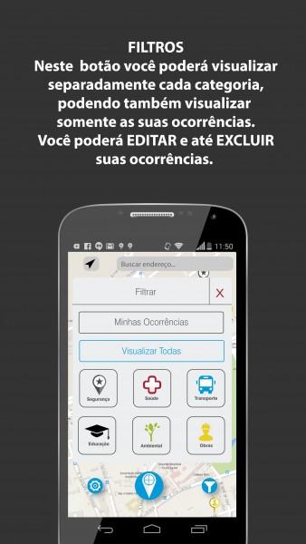furtivo 338x600 Novo aplicativo móvel mapeia crimes e deficiências em serviços publicos