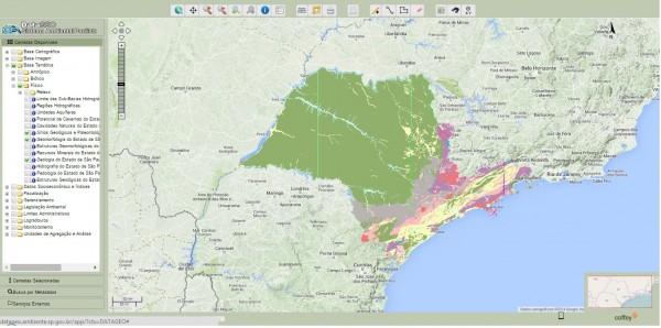 imagem02 600x298 Coffey e SMA lançam infraestrutura de dados espaciais para meio ambiente
