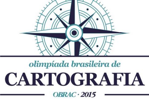 obrac2015 Inscrições abertas para a I Olimpíada Brasileira de Cartografia