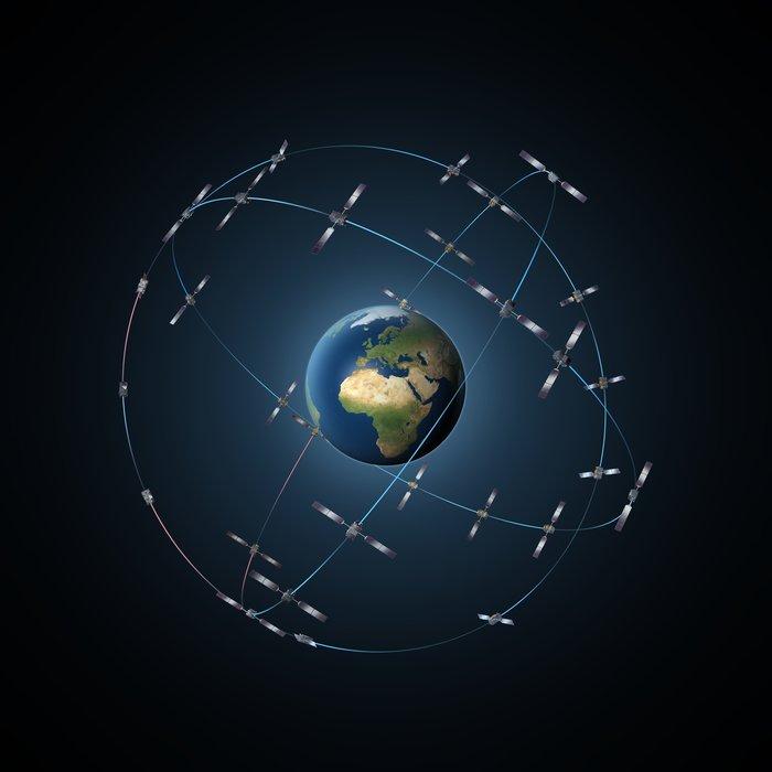 30 satellite Galileo constellation node full image 2 Two new satellites join Galileo Constellation