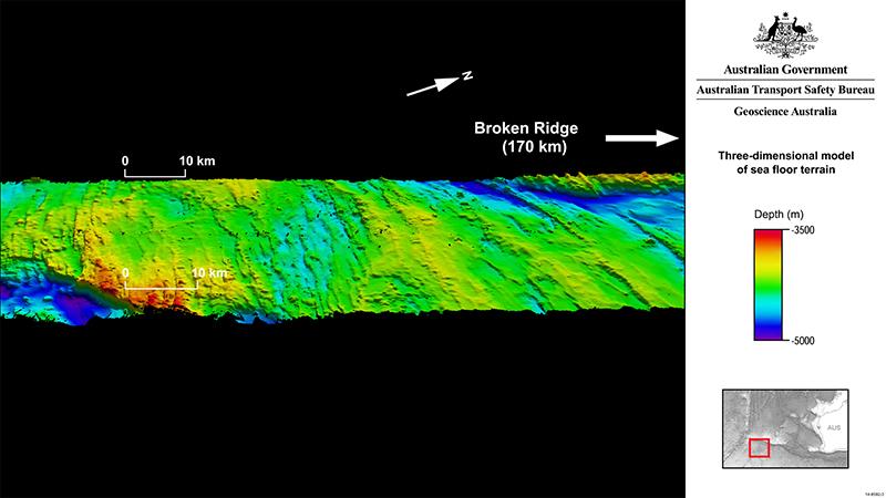 3D Model September 2014 01 large1 Pesquisa realizada na busca pelo avião MH370 auxilia na compreensão do relevo oceânico