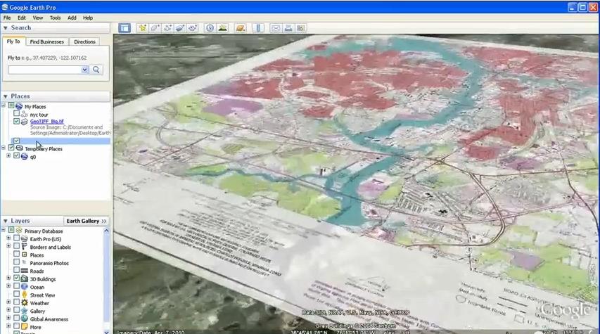 Gratuitade do Google Earth Pro abre novas possibilidades Gratuitade do Google Earth Pro abre novas possibilidades