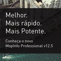 Mapeamento e analise geografica com o novo mapinfo Amanhã acontecerá o seminário online sobre a nova versão do software MapInfo. Participe!