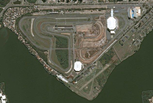 Parque Olimpico Airbus auxilia no monitoramento das obras do Parque Olímpico