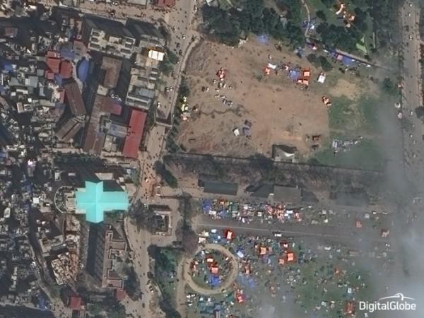 Drones e satélites ajudam após terremoto que devastou o Nepal 2 600x450 Drones e satélites ajudam após terremoto que devastou o Nepal