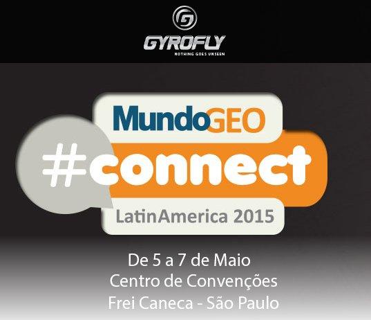 Gyrofly mundogeoconnect GyroFly lançará drone na feira MundoGEO#Connect 2015