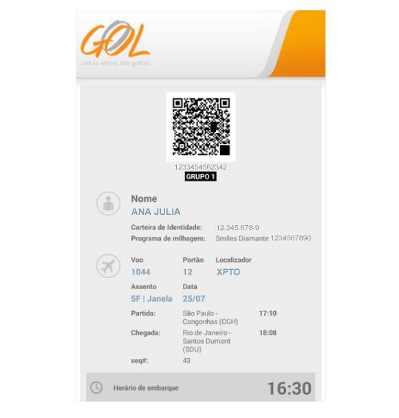 app passo12 4 Recurso de geolocalização da Gol ultrapassa 144 mil downloads