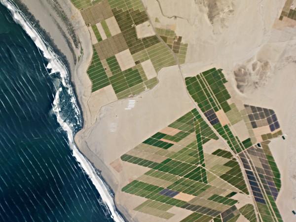 chavimochic project web 600x450 Imagen de satélite del proyecto de irrigación Chavimochic