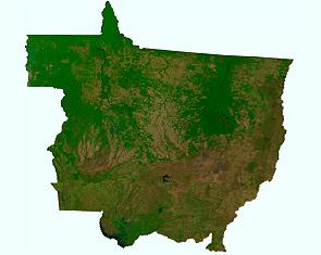 mosaico de imagens de satelite Embrapa e ANA divulgam mosaicos de imagens de satélite do Brasil
