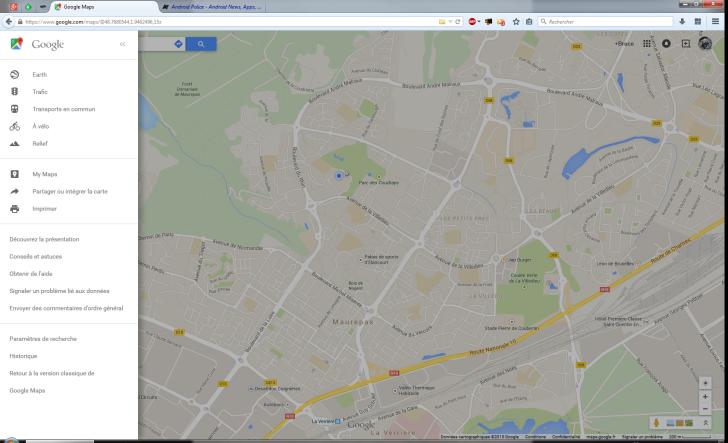 nexus2cee maps2 728x443 Google Maps testa nova interface