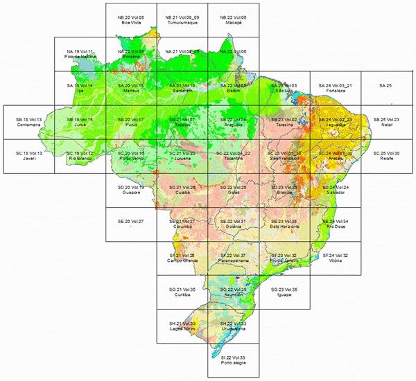 ProjetoRadam-IBGE
