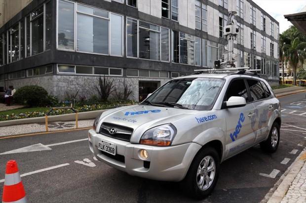 noticia carro aeroimagem Curitiba testa nova tecnologia para mapeamento aéreo de trânsito