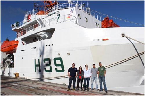 3930 4 Resultados da primeira missão no navio Vital de Oliveira devem auxiliar no alerta a eventos extremos