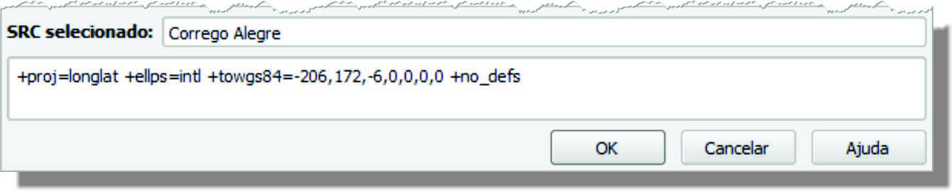 codigo proj4js Decifrando o georreferenciamento de carta topográfica no QGIS