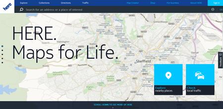 here maps for life Montadoras alemãs compram serviço de mapeamento da Nokia