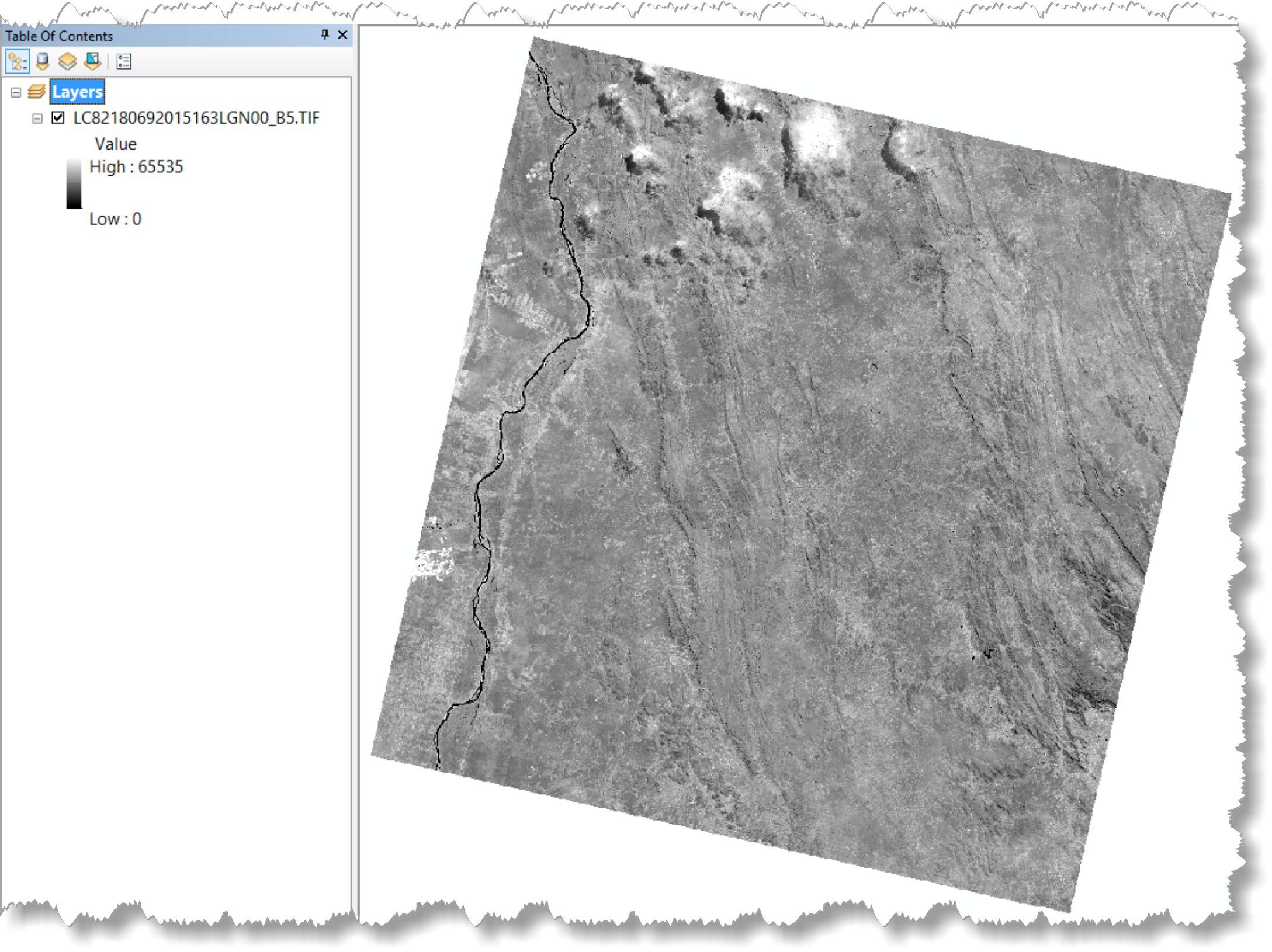 artigo 1 Artigo: Decifrando a ferramenta Composite Bands do ArcGIS